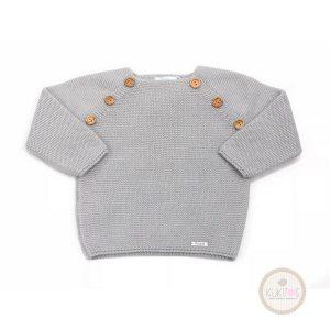Suéter botones cuello