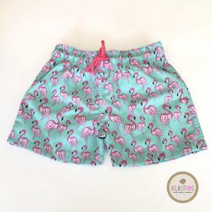 Boxer flamingos